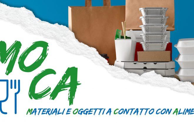 MOCA: materiali e oggetti a contatto con alimenti