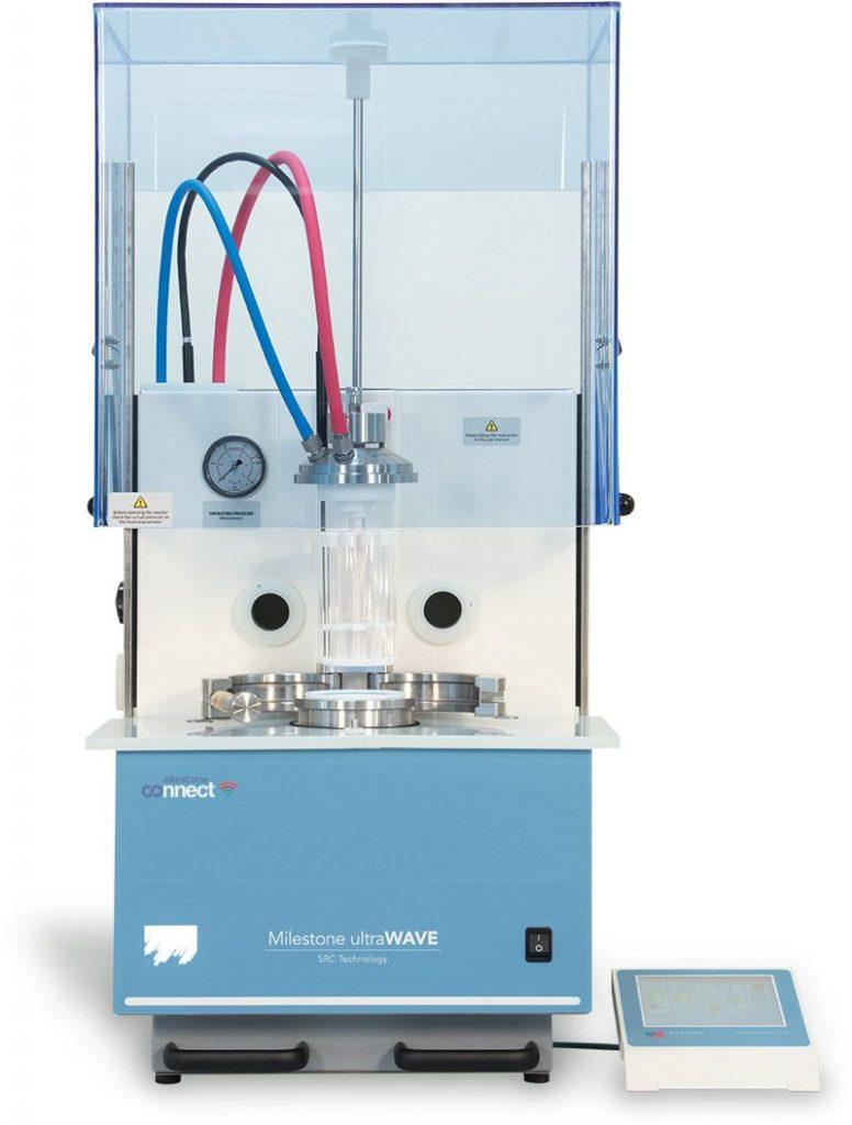 mineralizzatore a microonde per microplastiche