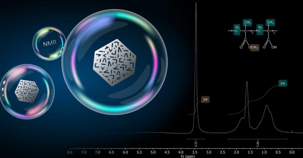 Determinazione del grado di polimerizzazione con lo spettrometro NMR