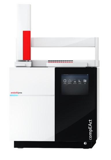 analizzatore elementare azoto zolfo