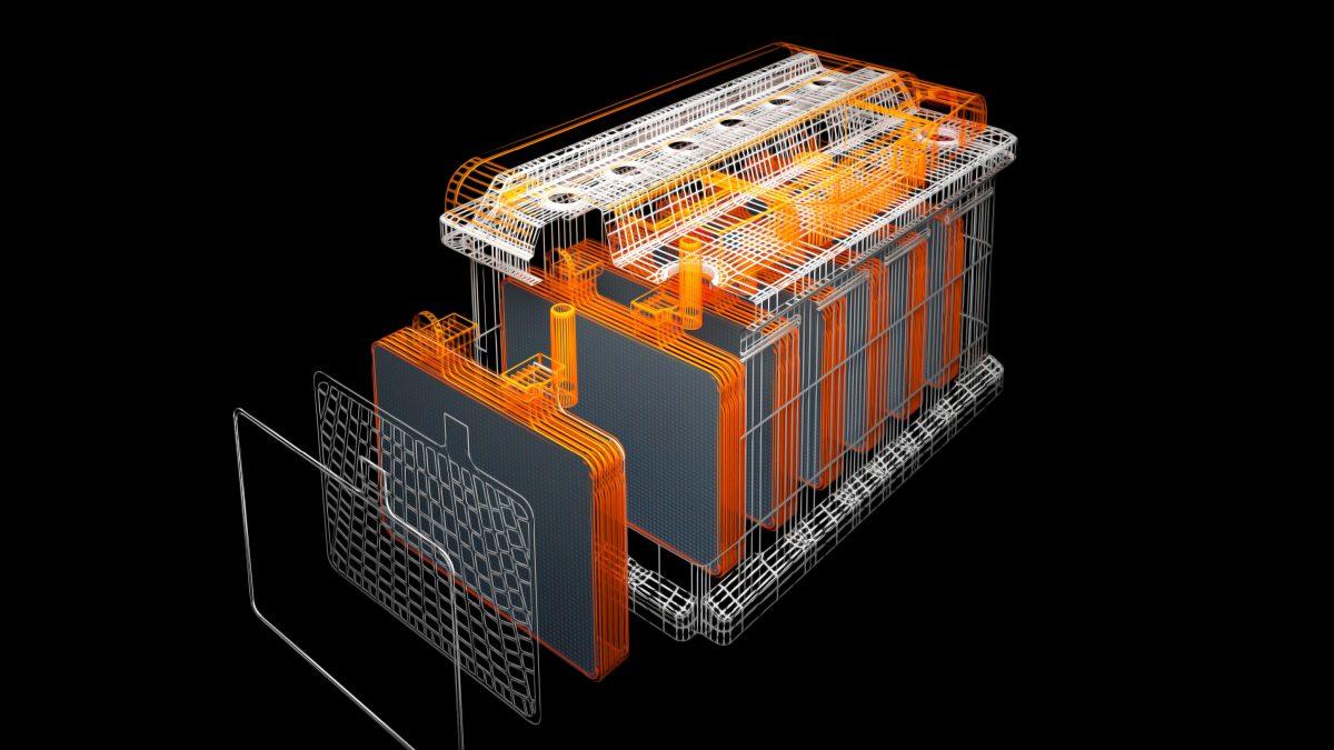 Determinazione della granulometria delle batterie al Piombo
